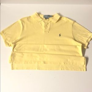 Men's Yellow Polo shirt
